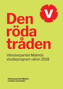 Vårprogram - studier 2018