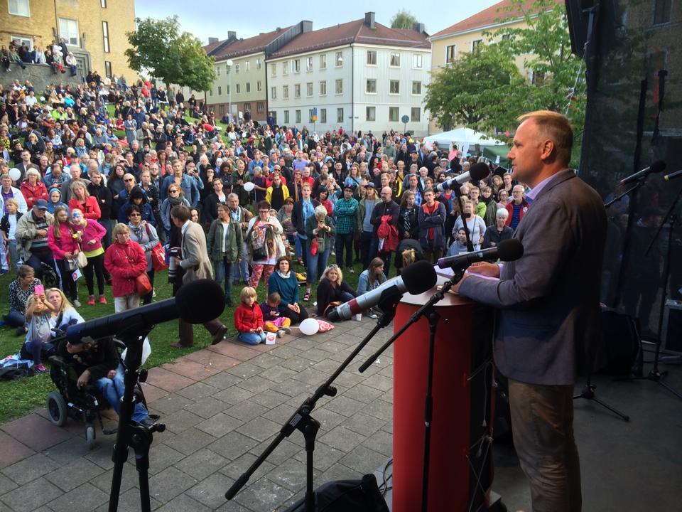 Jonas Sjöstedt Göteborg