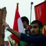 Talare från Malmös Unga Kurder (MUK)
