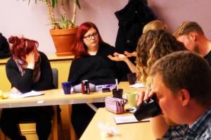Gruppdiskussion Gunnel och Jeanette