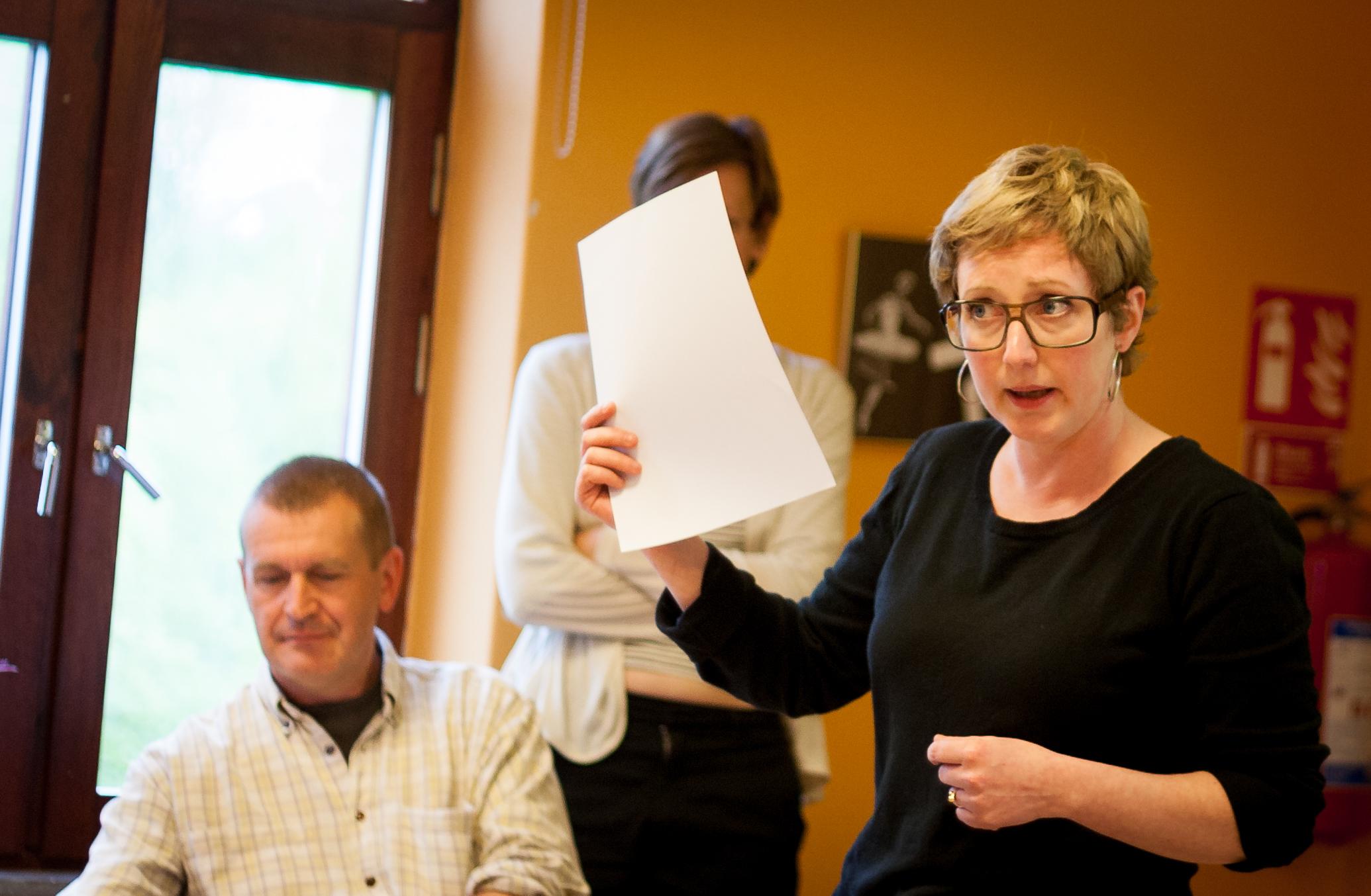 Hanna Gedin, deputy mayor in Malmö för the Left Party