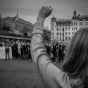 "Demo ""Vi står starka"" 180910"